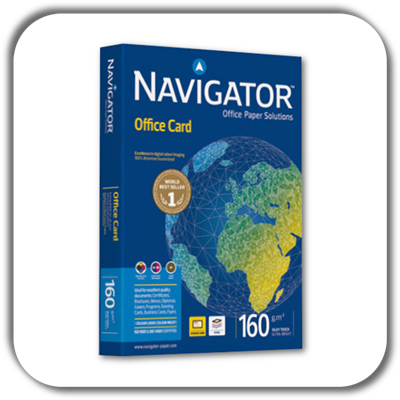 Xero A4 NAVIGATOR 160g. OFFICE CARD